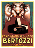 Bertozzi Parmigiano-Reggiano ジクレープリント : アシール・ルチアーノ・モウザン