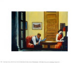 Room in New York Pôsteres por Edward Hopper