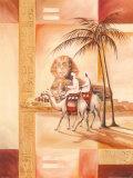 Desert Dreams II Konst av Gockel, Alfred