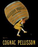 Cognac Pellisson Affischer av Leonetto Cappiello