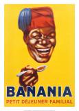 Banania, petit déjeuner familial Posters