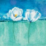Fleurs d'Azur II Prints by Isabelle Herbert