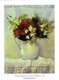 Arrangement in WeißII Poster von Deborah Chabrian