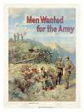 Men Wanted for the Army Giclee Print by Michael Whelan