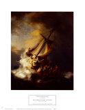 Storm on the Sea of Galilee Pôsters por  Rembrandt van Rijn
