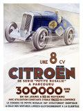 Citroen, Une 8 CV Giclee Print by  Louys