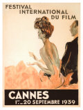 Festival International du Film, Cannes, 1939 Giclee Print by Jean-Gabriel Domergue