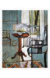 Lemmikkejä ikkunalla Giclée-vedos tekijänä Henri Matisse
