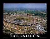 Talladega Speedway - Alabama Prints by Mike Smith