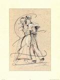 Tango Eins Poster von Alfred Gockel