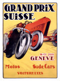 Grand Prix Swiss Giclee Print by Charles Loupot