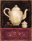 Time for Tea and Berries I Posters by Herve Libaud