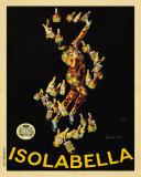 イゾラベッラ, 1910 ポスター : カピエッロ・レオネット