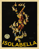 Isolabella, 1910 Julisteet tekijänä Leonetto Cappiello