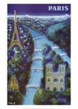Pariisi Posters tekijänä Bernard Villemot