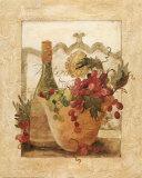 Wein und Grappa I Kunstdrucke von Carol Robinson