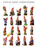 Garden Gnomes Prints