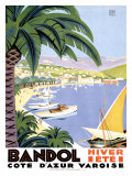 Bandol Giclee Print by Roger Broders