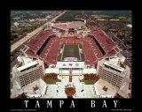 Raymond James Stadium, Tampa Bay, Florida Prints by Mike Smith