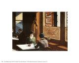 Chop Suey Plakater af Edward Hopper