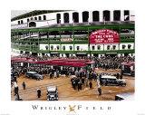 Wrigley Field-Stadium Kunstdrucke von Darryl Vlasak