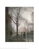 Plaza After the Rain Láminas por Paul Cornoyer