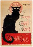 Tournee Du Chat Noir Julisteet tekijänä Théophile Alexandre Steinlen