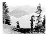 Northwest Nez Perc Giclee Print by Edward S. Curtis