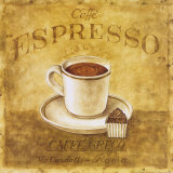 Caffe Expresso Prints by Herve Libaud
