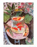 Kultakala Posters tekijänä Henri Matisse