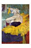 The Lady Clown Cha-U-Kao Lámina giclée por Henri de Toulouse-Lautrec
