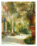 The Palm House Prints by Karl Blechen