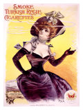 Smoke Turkish Cigarettes Giclee Print