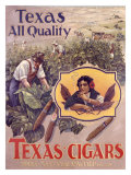 Texas Cigars Giclee Print by  Maatschappij