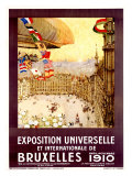 Expo Universelles Bruxelles, 1910 Giclee Print by Henri Cassiers