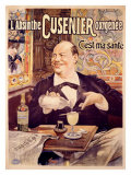 Absinthe Cusenier Giclée-vedos tekijänä Francisco Tamagno