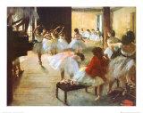 L'école de danse Affiches par Edgar Degas