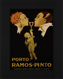 Porto Ramos Pinto Kunstdruck