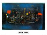 Abenteur - Schiff Kunstdrucke von Paul Klee