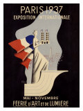 Exposition Internationale, Paris, 1937 Giclee Print