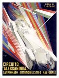Circuito Alessandria Giclee Print by Giuseppe Riccobaldi