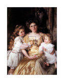 Mother's Love Prints by Thomas B. Kennington