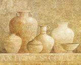 Antique Vases II Print by G.p. Mepas