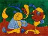 Adlige In Der Fallgrube Pôsteres por Joan Miró