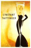 L'Instant Taittinger Giclee-trykk
