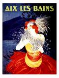 Aix Les Bains Gicléetryck av Leonetto Cappiello