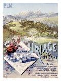 Uriage les Bains Giclee Print by Hugo D'Alesi
