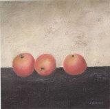 Red Apples Poster von Anouska Vaskebova