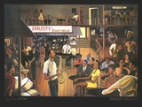 Jazz from the Cellar Art by Ernest Watson