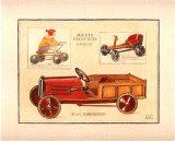 Camionnette Posters par Laurence David